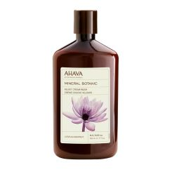 Ahava Mineral Botanic Cream Wash Lotus 500Ml