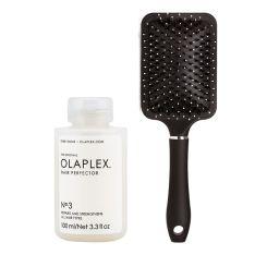 Olaplex No.3 Hair Perfector Treatment & Favourites Hair Brush